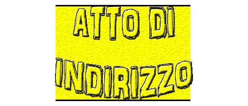 aTTO DI INDIRIZZO DEL DS