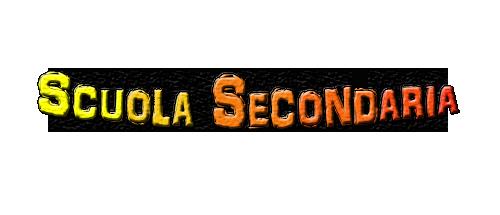 SCUOLA SECONDARIA