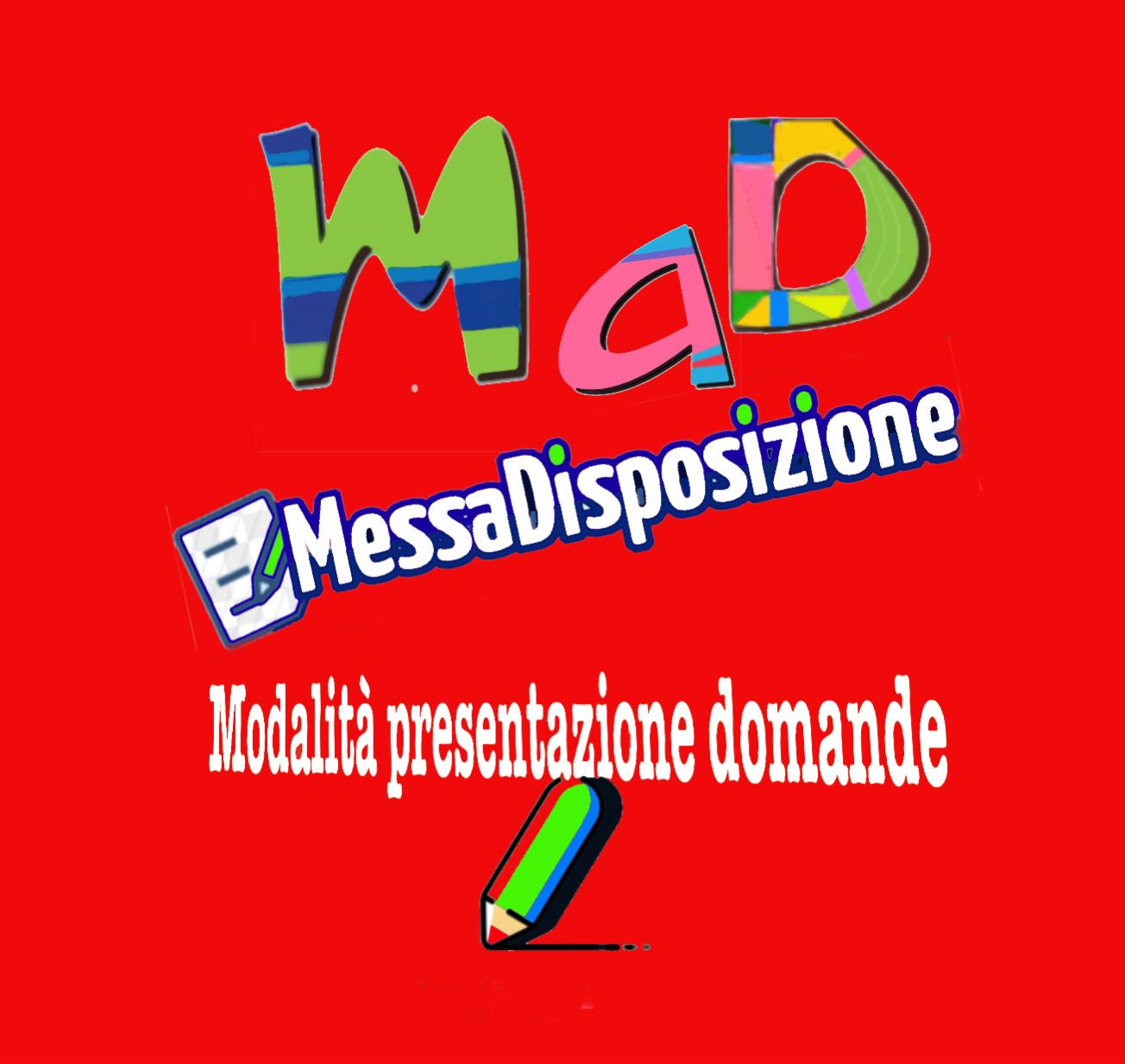 MAD PRESENTAZIONE DOMANDE - MODALLITÀ