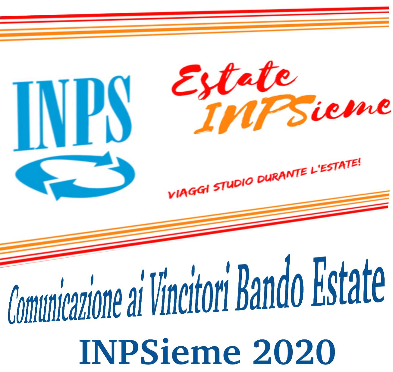 INPSIEME BANDO ESTATE 2020 COMUNICAZIONE