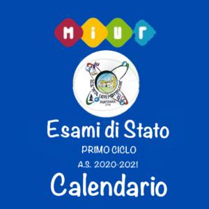 ESAMI DI STATO CALENDARIO