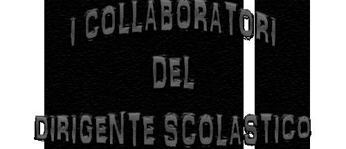 I COLLABORATORI DEL DS